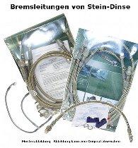 Spiegler Bremsleitung, einzeln, silber/keine - 28 cm, 002, 002