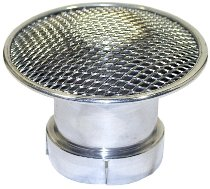 Malossi Intake funnel 38x50 mm aluminium for PHBL Carburettor