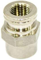 B&H Adap. 10x1-10x1 Nickel W/W