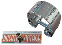 Conti Manifold clamp 44/45mm - Ducati 750 S, SS bevel drive, GT, 900 SS bevel drive, 860 GT...