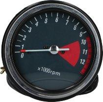 Ducati Tachometer 0-9.500-12.000 U/min., anthracite - 500-600 Pantah, 900 Darmah, MHR, S2...