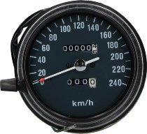 Ducati Speedometer 0-240 km/h, anthracite - 500-600 Pantah, 900 / 1000 MHR, S2, Darmah