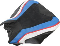 Luimoto Sitzbankbezug, schwarz/blau/weiß - BMW S 1000 RR