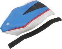 Luimoto Pillion seat cover, blue/white/black - BMW S 1000 RR