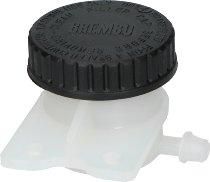 Brake fluid reservoir 30ml with ear 1 outlet.sidew