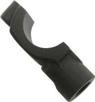 Abrazadera bomba de freno de mano negra 10x1,25