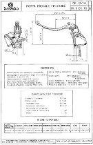Clutch pump. compl. PR 15/18 silver 749/999