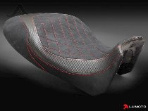 Luimoto Sitzbankbezug, `Diamond Edit` schwarz/rot - Ducati 1200 Diavel / Carbon / AMG / Strada