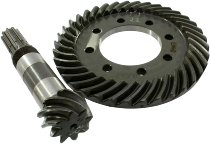 Moto Guzzi Ring gear set 8/37 rough toothed , 4.62 - V7 700, 850 GT/California...