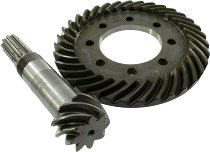 Moto Guzzi Ring gear set 7/33 rough toothed 4.71 - Le Mans 1-1000, California 2/3, T3...