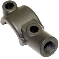 Tomaselli clutch lever clamp aluminum, with mirror mount, black