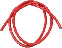 Ignition cable, silicone, red