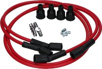 Dyna Ignition cable-kit 7mm cooper, red