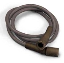 Dyna Ignition cable-kit 7mm graphite, black
