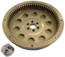 Moto Guzzi Flywheel ergal easy 10 springs - 850, 1100, 1200 Breva, Griso, Norge, Sport, V11...
