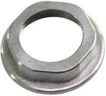Ignition lock nut aluminium with collar, cnc