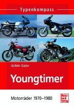 Book MBV type compass youngtimer - motorcycles 1970 - 1980