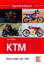 Book MBV type compass KTM motorcycles since 1953