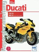 Book MBV repair manual Ducati 750-900 SS 1991-1998