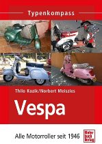 Book MBV type compass Vespa all scooter since 1946