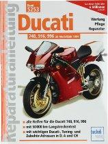 Book MBV repair manual Ducati 748, 916, 996 from 1994
