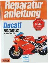 Book MBV repair manual Ducati 750-900 SS from 1991