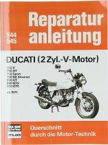 Book MBV repair manual Ducati 750 GT, Sport, Desmo, 860, 900 GTS...