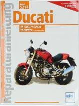 Book MBV repair manual Ducati 600, 750, 900 Monster