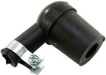 Ignition plug rubber black