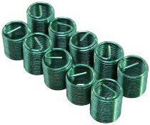 Helicoil Thread inserts, refill pack M10x1x17,5
