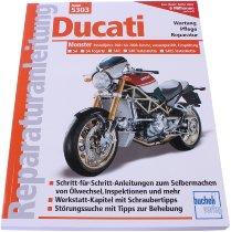 Book MBV repair manual Ducati Monster with 4 valves