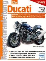Book MBV repair manual Ducati Monster 620, 750, 800, 900, 1000 i.e. from 2000