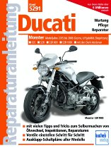 Book MBV repair manual Ducati Monster 695, 800, 1000 S2R