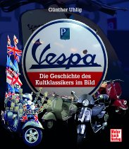 Book MBV Vespa the history of the cult classic in the picture NML