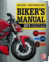 Book MBV Biker`s Manual 291 tips for all lean angles equipment, driving, technique