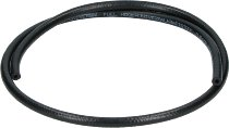Fuel hose 5,0x11,0mm, black, rubber, sold by meter