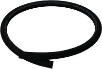Fuel hose 6,0x11,0mm, black, textile, sold by meter