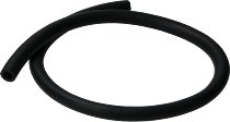 Fuel hose 12,0x19,0mm, black, rubber, sold by meter