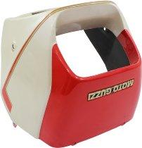 Moto Guzzi Headlight fairing, red/white - V35 II / III