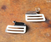 Dapper Style Pair of polished injector covers
