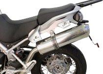 Agostini Silencer inox with homologation - Moto Guzzi 1200 Stelvio