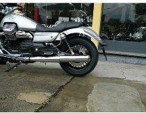 Agostini Silencer kit inox, round, without homologation - Moto Guzzi California 1400 Touring, Custom
