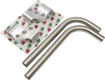 Clip on handlebar kit Verlicchi Tourer 35 / 115mm