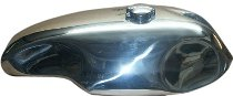 Moto Guzzi Alutank long, round, Norton ´Sprint´ with Monza cap - for models with tonti-frame