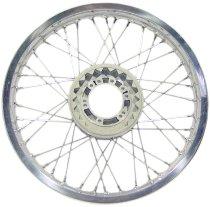Front spoke wheel 2.15x18 flat shoulder (e.g. Moto Guzzi)