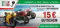 Gift certificate Stein-Dinse 15 Euro