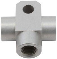 Spiegler Brake distributor 3-way Alu SBT M10x1 silver - universally applicable