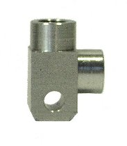 Spiegler brake distributor 2-way 90 ° aluminum SBT M10x1 silver
