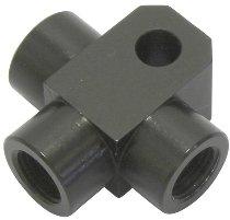 Spiegler brake distributor 3-way aluminum SBT M10X1, black