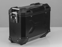 SW Motech TRAX ADV Aluminium side case, left hand, 37 l, black